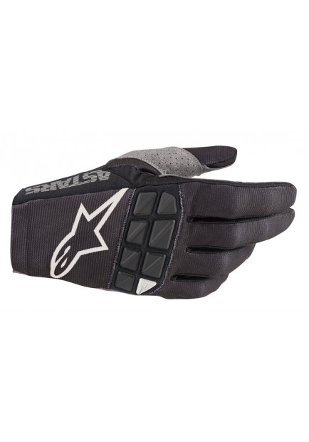 RACEFEND GLOVES 12 BLACK WHITE 2019 (3563520)