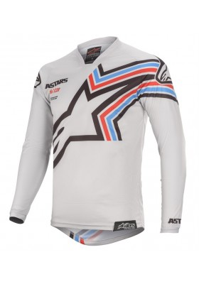 ALPINES. RACER BRAAP JERSEY 9210 LIGHT GRAY BLACK (3761420)