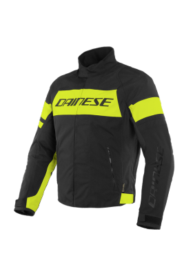 SAETTA D-DRY JACKET R17 BLACK FLUO YELLOW
