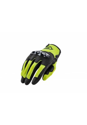GUANTO GLOVES CE RAMSEY MY VENTED 318 NERO GIALLO