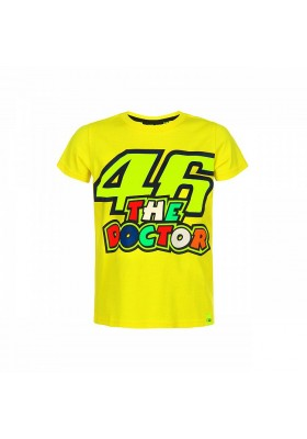 VRKTS353401 T-SHIRT KID YELLOW VR46