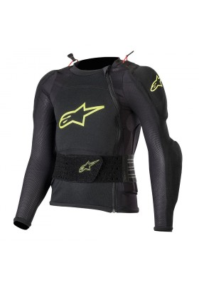 BIONIC PLUS YOUTH PROTECTION JACKET LONG SLEEVE 155 YELLOW FLUO