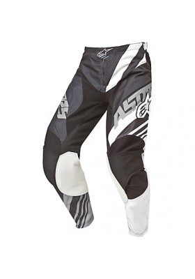 ALPINES. RACER SUPERMATIC PANTS 153 NERO BIANCO