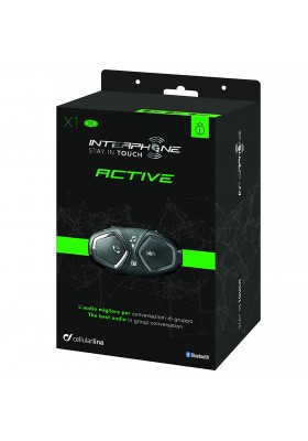 ACTIVE INTERPHONE SINGLE PACK BLUETOOTH