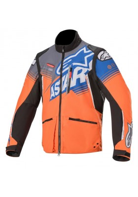 VENTURE R JACKET 417 ORANGE BLUE