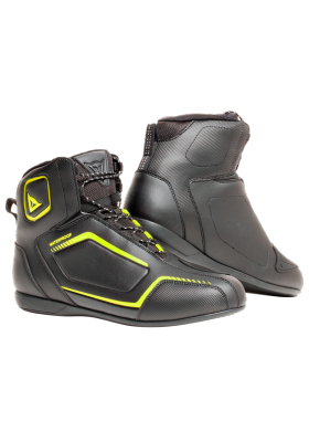SCARPA RAPTORS D-WP SHOES N49 BLACK FLUO YELLOW
