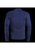 HP1 MID 2 MAN FULL ZIP Z08 BLACK IRIS BLUE