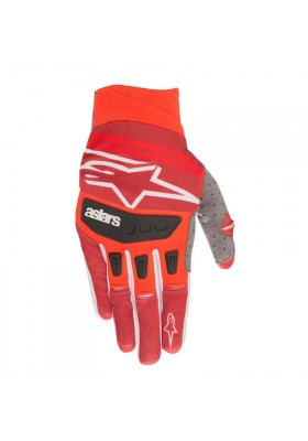 ALPINES. TECHSTAR GLOVES 308 RED BURGUNDY (3561019)