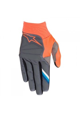 AVIATOR GLOVES 1444 ANTHRACITE ORANGE (3560319)