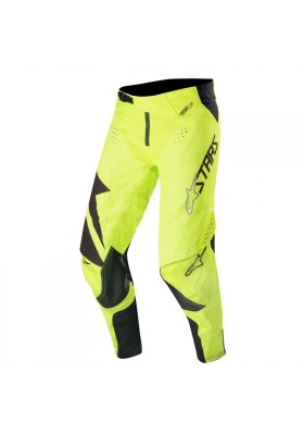 ALPINES. TECHSTAR FACTORY PANTS 155 BLACK YELLOW FLUO (3721019)