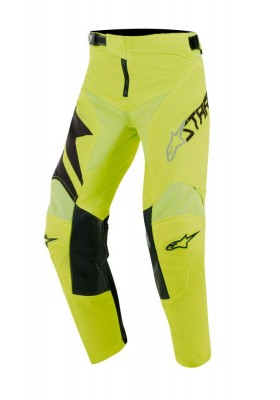 ALPINES. YOUTH RACER FACTORY PANTS 155 BLACK YELLOW (3741019)