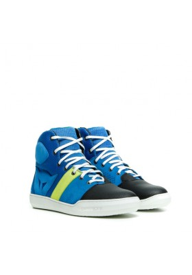 SCARPA YORK AIR SHOES 07D BLUE FLUO-YELLOW