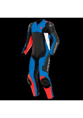 ASSEN 2 1 PC PERF. SUIT 83C BLACK BLUE FLUO-RED