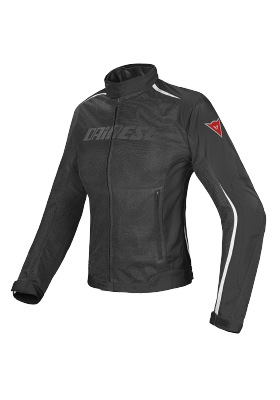 D-DRY HYDRA FLUX LADY JACKET BLACK BLACK WHITE