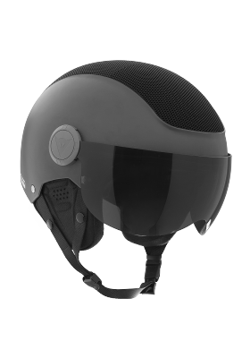 VIZOR SOFT HELMET GRAY BLACK-MATT