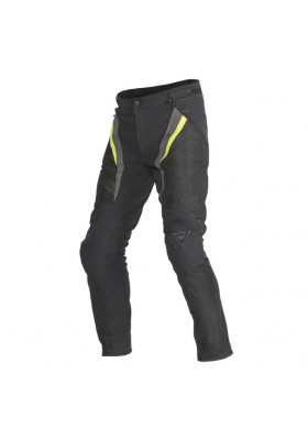 DRAKE SUPER AIR TEX PANTS T23 BLACK YELLOW DARK-GULL