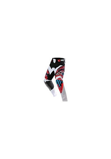ALPINES. YOUTH CHARGER PANT 371 RED CYAN