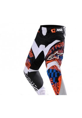 ALPINES. YOUTH CHARGER PANT 471 ORANGE BLUE