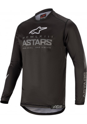 ALPINES. RACER GRAPHITE JERSEY 111 DARK GREY