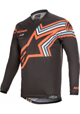 ALPINES. RACER BRAAP JERSEY 9340 DARK GRAY ORANGE (3761420)