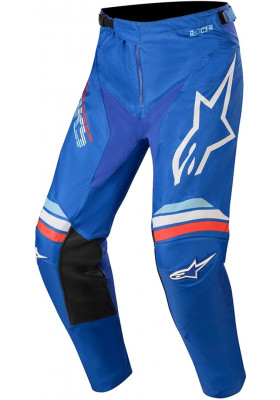 ALPINES. YOUTH RACER BRAAP PANTS 7250 BLUE WHITE (3741420-7250)