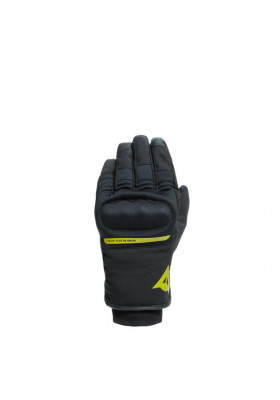 AVILA UNISEX D-DRY GLOVES 620 BLACK FLUO-YELLOW