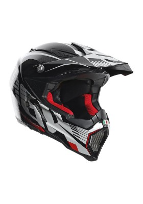 AX-8 CARBON CARBOTECH WHITE RED