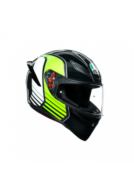 K1 AGV MULTI 013 POWER GUNMETAL WHITE GREEN