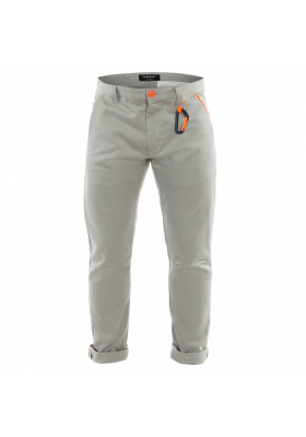 AWA BLACK PANTS 02B DRIZZLE GRAY ORANGE