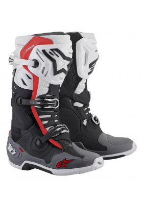 ALPINES. TECH 10 SUPERVENTED 1213 BK WH MID GR RD