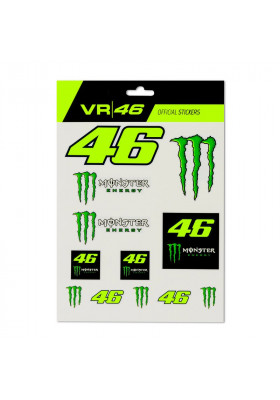 MOUST398603 BIG STICKERS VR46 MONSTER ENERGY