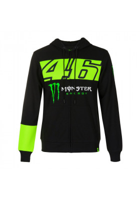 MOMFL397604 FLEECE MAN VR46 MONSTER ENERGY BLACK