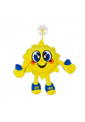 VRUTO402801 VR46 PELUCHE SOLE SUN YELLOW