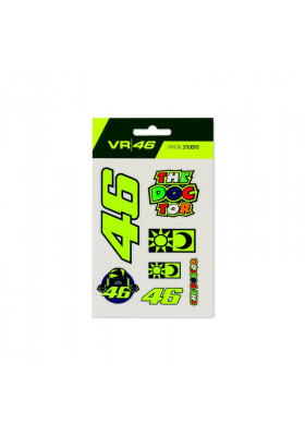 VRUST399703 SMALL STICKERS VR46