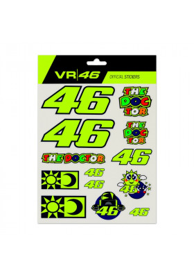 VRUST399603 BIG STICKERS VR46