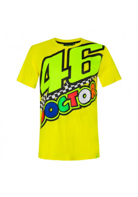 VRMTS390001 T-SHIRT VR46 YELLOW THE DOCTOR