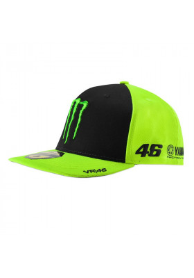 MOMCA381928 CAP YELLOW BLACK VR46 MONSTER