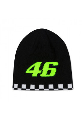 VRMBE391003 BEANIE VR46 DOUBLE SIDE BLACK
