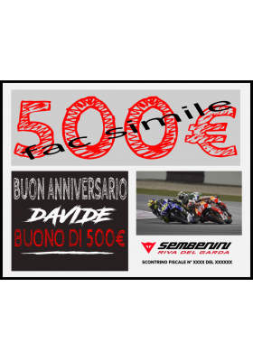 BUONO REGALO ONLINE 500 EURO