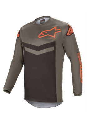ALPINES. FLUID SPEED JERSEY 9344 GRAY ORANGE (3762621)