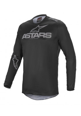 ALPINES. FLUID GRAPHITE JERSEY 111 BLACK GRAY (3762321)