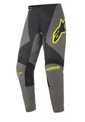 ALPINES. FLUID SPEED PANTS 9350 GRAY YELLOW (3722621)