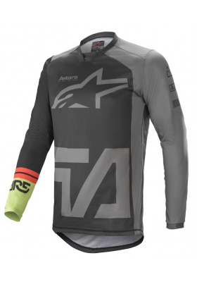 ALPINES. RACER COMPASS JERSEY 1116 BLACK GRAY GREEN (3762121)