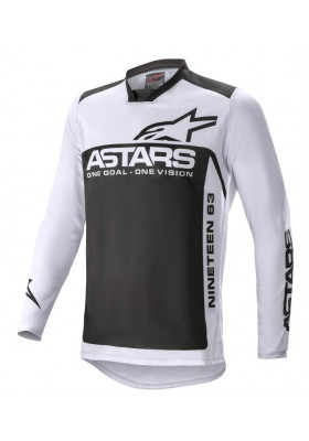 ALPINES. RACER SUPERMATIC JERSEY 9210 GRAY BLACK (3761521)