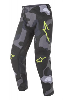 ALPINES. RACER TACTICAL PANTS 9155 GRAY CAMO YELLOW (3721221)