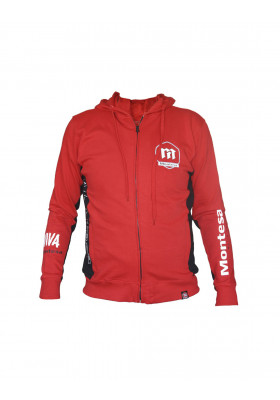 MT4003R MONTESA PADDOCK HOODIE SWEATSHIRT RED