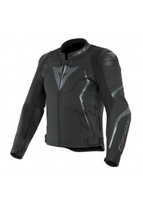 AVRO 4 LEATHER JACKET 98D BLACK ANTHRACITE