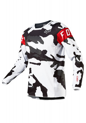 180 BERSERKER JERSEY SPECIAL EDITION CAMO BLACK WHITE (25772-027)