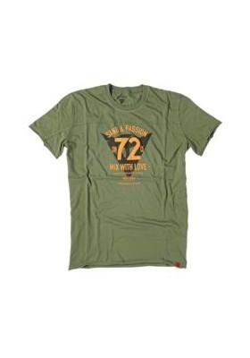 T-SHIRT 72&PASSION VERDE MILITARE