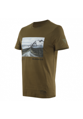 T-SHIRT ADVENTURE DREAM 05F MILITARY-OLIVE BLACK
